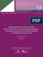 Tratado Para El Control de Trasnacionales