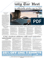 The Daily Tar Heel for Sept. 1, 2015