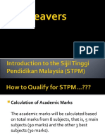 SPM Leavers