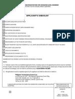 ASEAN Engineer Application Form