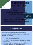 Unidad 1 (Lenguajes y Automatas)