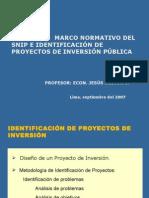 Marco Normativo e Identificacion Riego