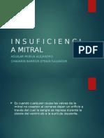 Cardiologia Insuficiencia mitral