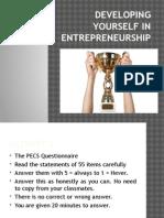 Chapter 3_Developing Yourself in Entrepreneurship