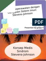 Steven Johnson Syndrome