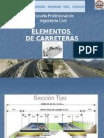 Elementos Geométricos Componentes de Una via 2013 -2