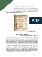 Gnacio de Luzán o La Poética Neoclasicista