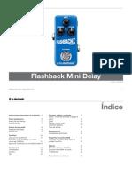 Tc Electronic Flashback Mini Delay Manual Spanish