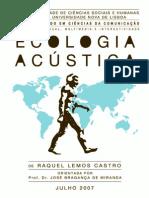Ecologia Acústica