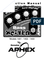 Aphex 1400series User Man