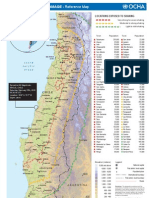 Chile Earthquake Damage - Reference Map (as of 27 Feb 2010) by OCHA