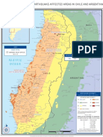 Earthquake-Affected Areas in Chile and Argentina (1 Mar 2010)