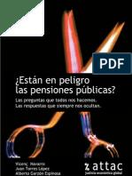 ¿Están en peligro las pensiones públicas?