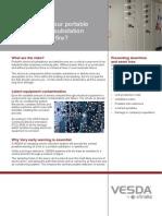13515 04 VESDA Portable Switch Rooms Brochure a4 Lores