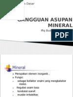 Gangguan Intake Mineral