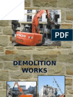 Demolition Work