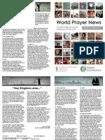 World Prayer News - September/October 2015