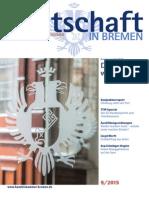 Wirtschaft in Bremen 09/2015 - Kammerwahl 2015