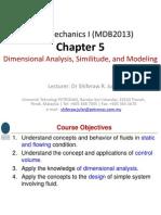 Ch 5 Dimensional Analysis