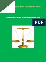 Le domaine de la loi et le champ de compétences du Parlement haïtien