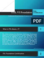 ITIL V3 Foundation Exam Questions & Answers Set