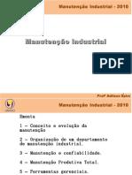 Manutenção Industrial - Conceito