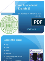 class 1 ae2 fall 2015