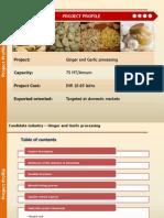 96-Ginger and Garlic Processing