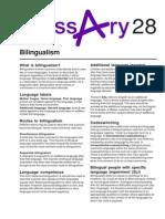 Bilingualism (2)