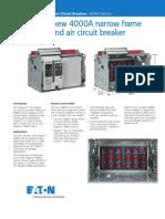 Intreruptor Eaton 4000A