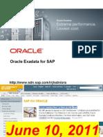 Exadata4sap Customerwebcast 2011-08-30