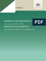 Audit Report Mauritius 2014