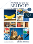 So You Want to Go to Oxbridge Tell Me About a Banana 5th Edition