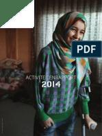 Activiteitenrapport 2014