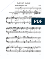 Liszt Rakoczy March