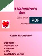 Valentine Ppt
