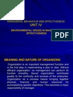 Managerial Behaviour Unit -IV