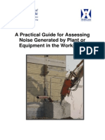 A Practical Guide for Assessing Noise Generated by Plant Equipment