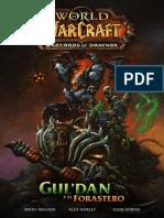 warcraft comic  Guldan y El Forastero 2014