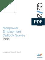 Manpower - Employment Outlook Survey - Q2, 2011