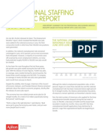 Ajilon - Professional Staffing Economic Report - July 2012