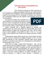 07 - A Compreensão de Paulo Das Profecias de Daniel