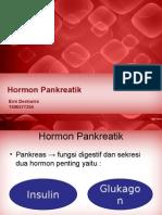 Pancreatic hormone