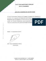 Reforma del TC presentada por el PP para poder sancionar a Mas