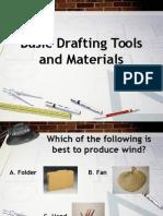 Drafting Tools and Materials
