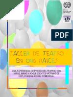 Programa de Teatro ONG rr5
