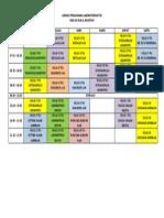 Jadwal Penggunaan Laboratorium Tkj-tsm