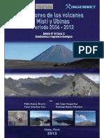 Monitoreo de Los Volcanes Misti y Ubinas