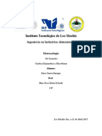 Cinetica Enzimatica y Microbiana