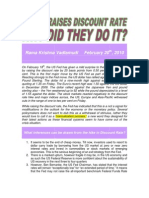 US Fed Raises Discount Rate-Why Did They Do It-VRK100-20022010